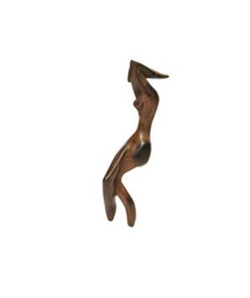 Dance Form, Wood, 39 x 9 x 9 cm.