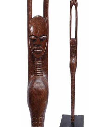 Elongated Female Figure ,1978 Wood 160 cm