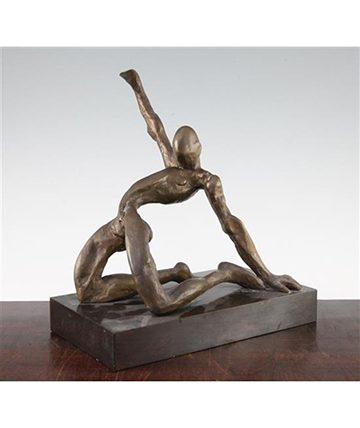 Figure of a Male Nude, 1985, Bronze, 27.31 cm