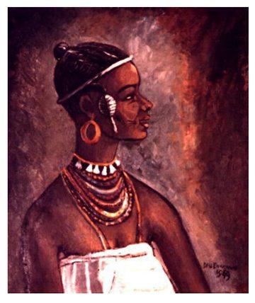 Fulani Girl of Rupp, 1949