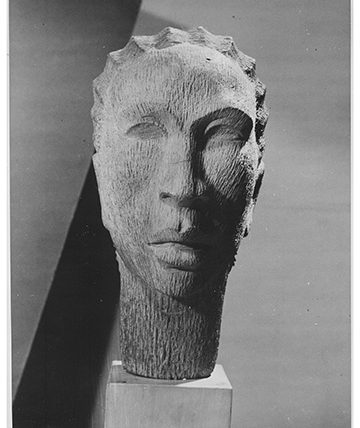 Head of Yoruba Girl