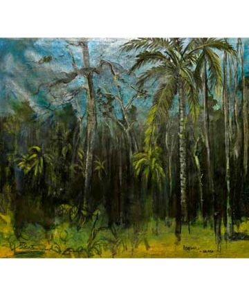 Idemili Ulasi, 1938, oil on canvas, 75 x 84cm