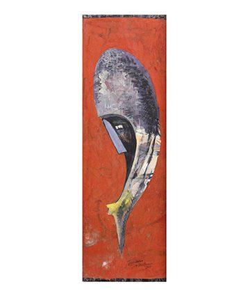 'John's Dream' Watercolour 81 x 27cm.