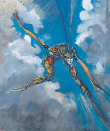 Ogolo,1988 Oil on Canvas 73 x 53cm.