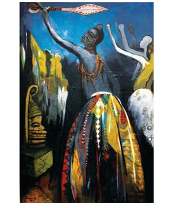 Royal Dance, Benin.