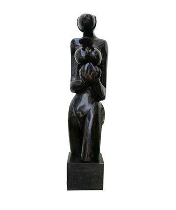 Torso Ebony Wood 67.5 cm