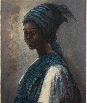Tutu, 1974, oil on canvas, 51 x 41cm