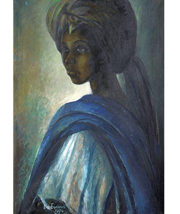 Tutu,1974,  Oil on Canvas 97 x 66.5 cm.