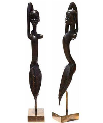Untitled , 1959 Wood 135 cm.