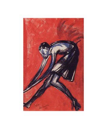 Dance Form, 1959–1959, Watercolor,52.7 x 34.9 cm.