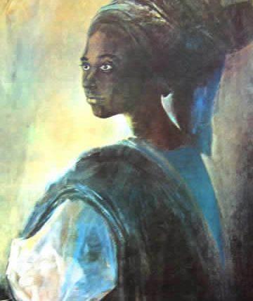 Tutu,1973, Oil on Canvas 97 x 66.5 cm