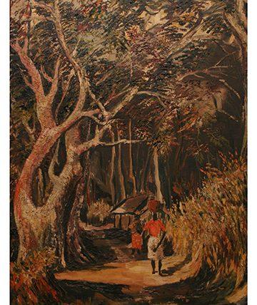 Nekede, 1949,  Oil on Canvas