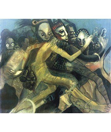 Miasma, Oil on Canvas