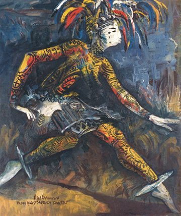 Agbogho Mmuo, 1949, Oil on Canvas