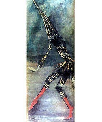 Ogolo. 1989, Oil on Canvas